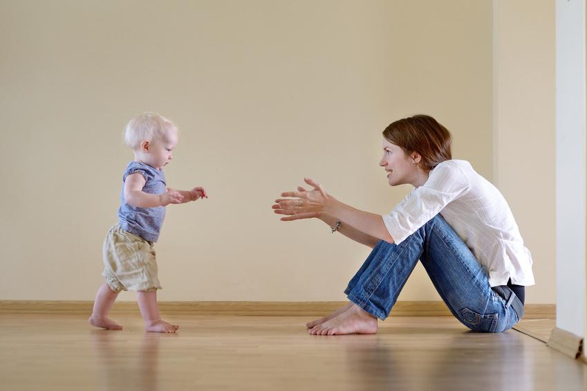 La marche de l'enfant